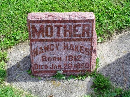 HAKES, NANCY - Jones County, Iowa   NANCY HAKES