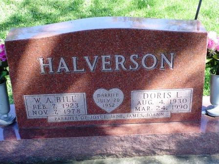 HALVERSON, W.A.
