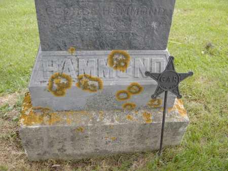 HAMMOND, GEORGE - Jones County, Iowa | GEORGE HAMMOND