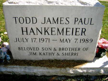 HANKEMEIER, TODD JAMES PAUL - Jones County, Iowa | TODD JAMES PAUL HANKEMEIER