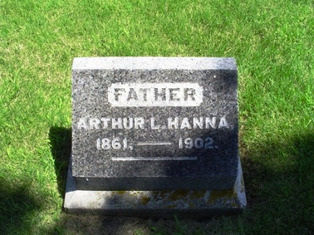 HANNA, ARTHUR L. - Jones County, Iowa | ARTHUR L. HANNA