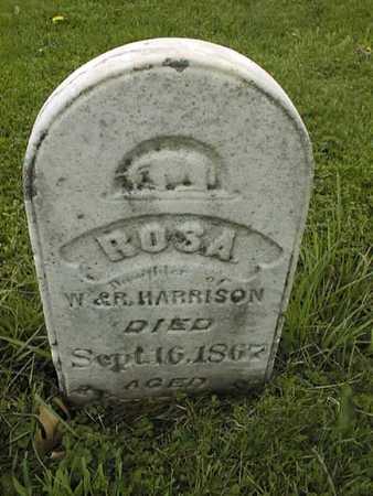 HARRISON, ROSA - Jones County, Iowa   ROSA HARRISON