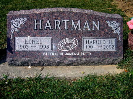 HARTMAN, HAROLD H. - Jones County, Iowa | HAROLD H. HARTMAN