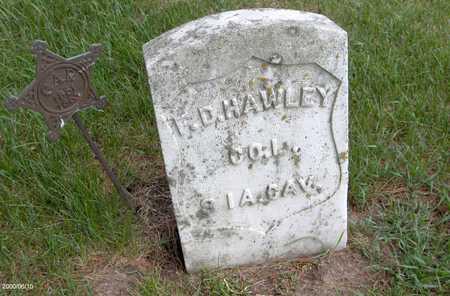 HAWLEY, F.D. - Jones County, Iowa | F.D. HAWLEY