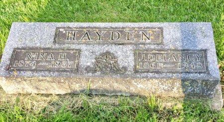 HAYDEN, J. DELANCY - Jones County, Iowa | J. DELANCY HAYDEN