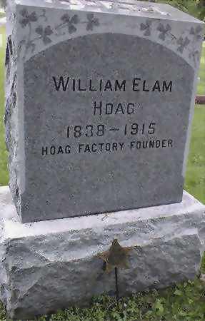 HOAG, WILLIAM ELAM - Jones County, Iowa   WILLIAM ELAM HOAG