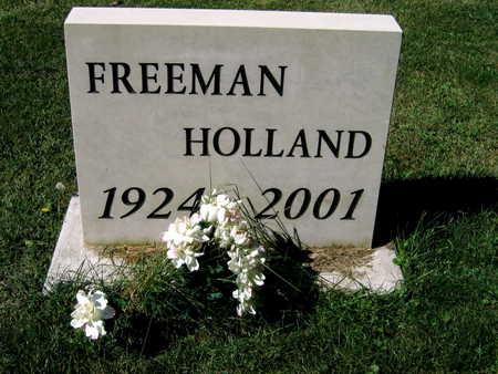 HOLLAND, FREEMAN - Jones County, Iowa   FREEMAN HOLLAND