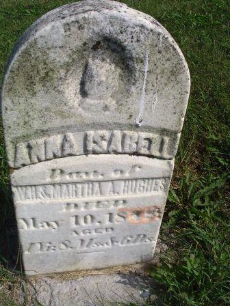 HUGHES, ANNA ISABELL - Jones County, Iowa | ANNA ISABELL HUGHES