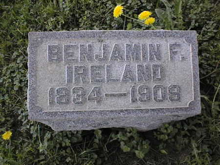 IRELAND, BENJAMIN F. - Jones County, Iowa | BENJAMIN F. IRELAND
