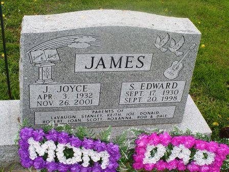 JAMES, S. EDWARD - Jones County, Iowa   S. EDWARD JAMES