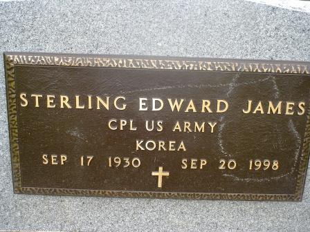 JAMES, STERLING EDWARD - Jones County, Iowa | STERLING EDWARD JAMES