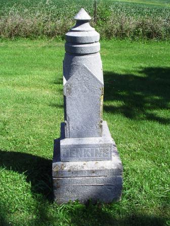 JENKINS, FAMILY HEADSTONE - Jones County, Iowa | FAMILY HEADSTONE JENKINS