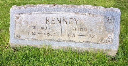 KENNEY, BERTHA V. - Jones County, Iowa | BERTHA V. KENNEY