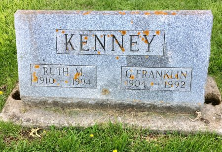 KENNEY, RUTH M. - Jones County, Iowa | RUTH M. KENNEY