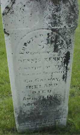 KENNY, DENNIS - Jones County, Iowa | DENNIS KENNY