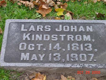 KINDSTROM, LARS JOHAN - Jones County, Iowa   LARS JOHAN KINDSTROM
