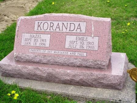 KORANDA, EMILE - Jones County, Iowa | EMILE KORANDA