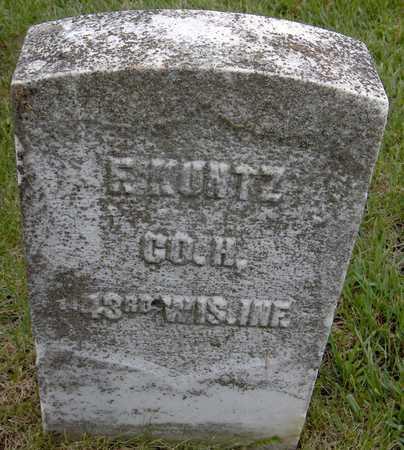 KUNTZ, F. - Jones County, Iowa | F. KUNTZ