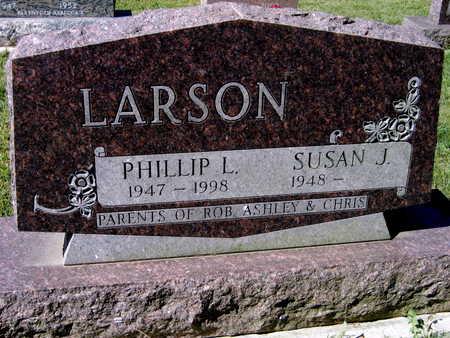 LARSON, PHILLIP L. - Jones County, Iowa | PHILLIP L. LARSON