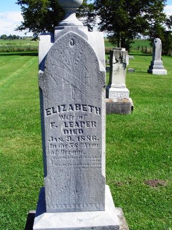 LEAPER, ELIZABETH - Jones County, Iowa | ELIZABETH LEAPER