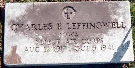LEFFINGWELL, CHARLES E. - Jones County, Iowa   CHARLES E. LEFFINGWELL