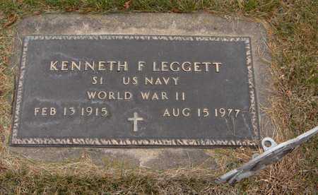 LEGGETT, KENNETH F. - Jones County, Iowa | KENNETH F. LEGGETT