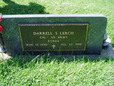 LERCH, DARRELL S - Jones County, Iowa | DARRELL S LERCH