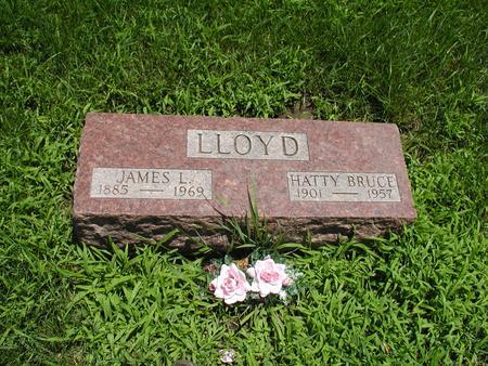 BRUCE LLOYD, HATTIE - Jones County, Iowa | HATTIE BRUCE LLOYD