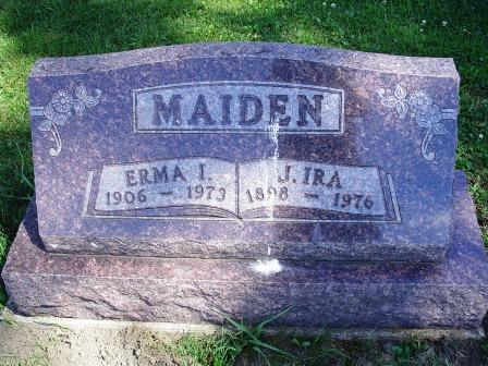 MAIDEN, ERMA I - Jones County, Iowa | ERMA I MAIDEN