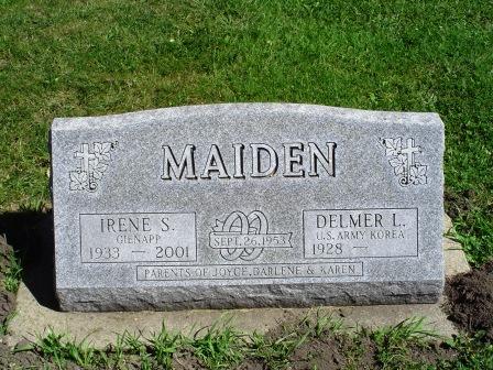 MAIDEN, DELMER - Jones County, Iowa | DELMER MAIDEN