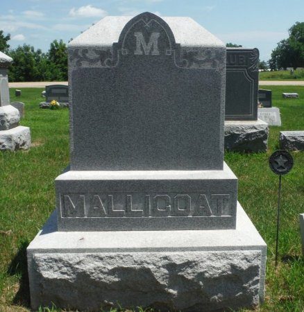 MALLICOAT, FAMILY MONUMENT - Jones County, Iowa | FAMILY MONUMENT MALLICOAT