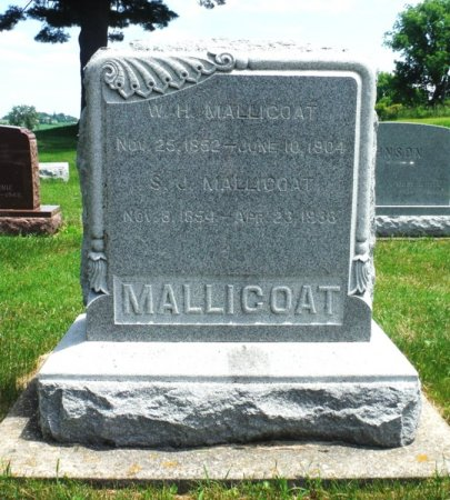 MALLICOAT, W. H. - Jones County, Iowa | W. H. MALLICOAT