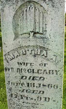 MCCLEARY, MARTHA A. - Jones County, Iowa | MARTHA A. MCCLEARY