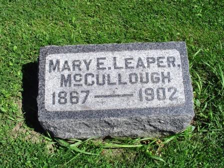 MCCULLOUGH, MARY E - Jones County, Iowa | MARY E MCCULLOUGH