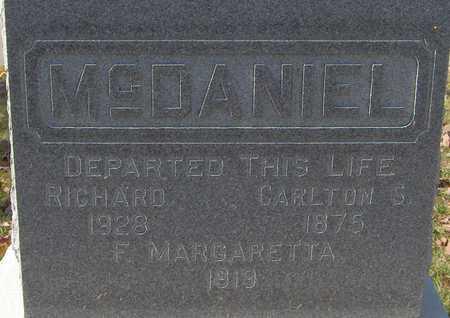 MCDANIEL, CARLTON S. - Jones County, Iowa | CARLTON S. MCDANIEL
