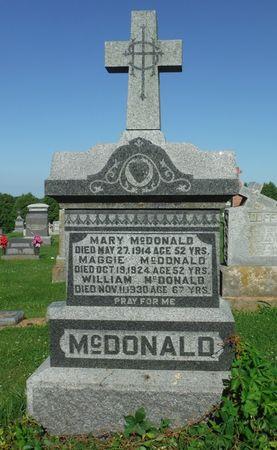 MCDONALD, MARY - Jones County, Iowa | MARY MCDONALD