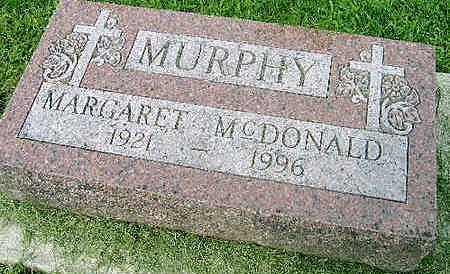 MCDONALD, MARGARET - Jones County, Iowa | MARGARET MCDONALD