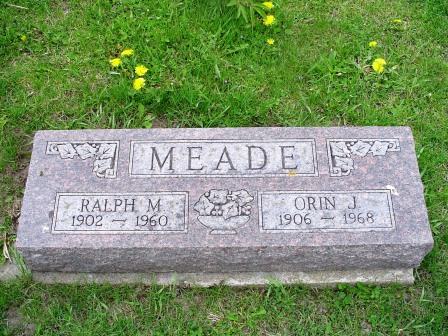 MEADE, ORIN J - Jones County, Iowa | ORIN J MEADE