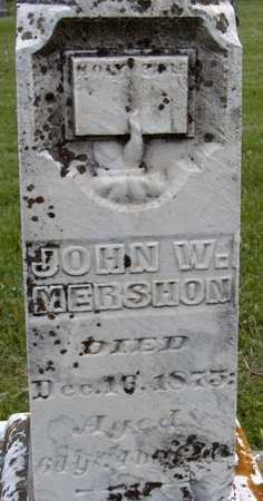 MERSHON, JOHN W. - Jones County, Iowa | JOHN W. MERSHON