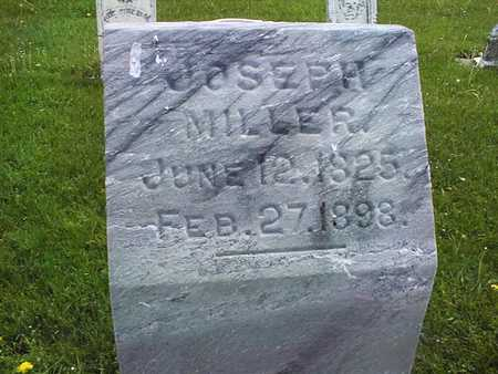 MILLER, JOSEPH - Jones County, Iowa | JOSEPH MILLER