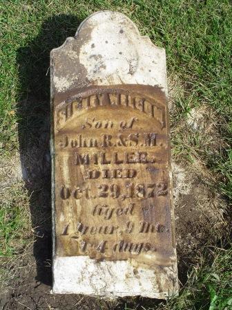 MILLER, SICNEY WELSON - Jones County, Iowa   SICNEY WELSON MILLER
