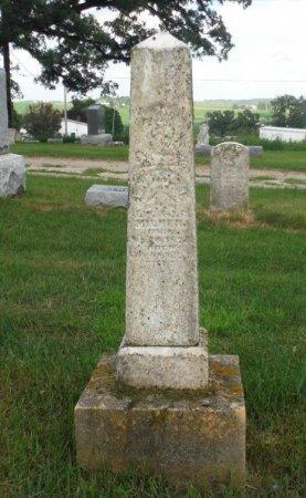 MILNER, CARRIE I. - Jones County, Iowa | CARRIE I. MILNER