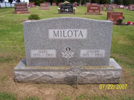 MILOTA, MARY - Jones County, Iowa | MARY MILOTA