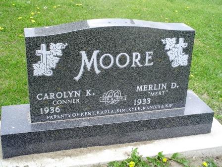 CONNER MOORE, CAROLYN K - Jones County, Iowa   CAROLYN K CONNER MOORE