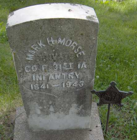 MORSE, MARK H. - Jones County, Iowa | MARK H. MORSE