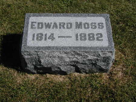 MOSS, EDWARD - Jones County, Iowa | EDWARD MOSS