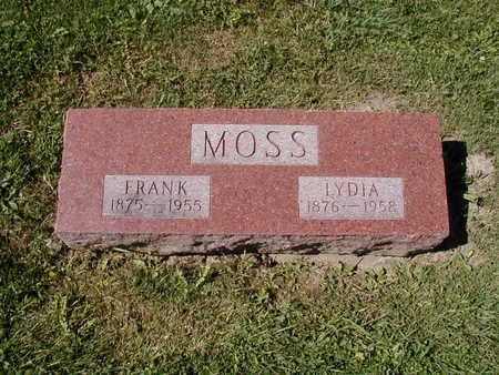 MOSS, FRANK - Jones County, Iowa | FRANK MOSS