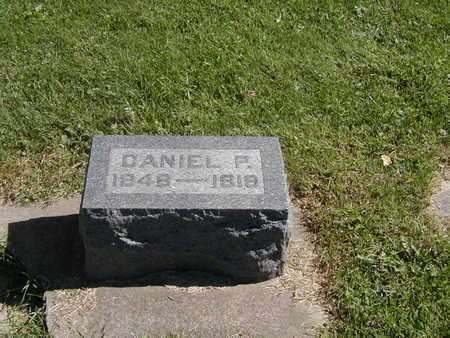 MOYER, DANIEL P. - Jones County, Iowa | DANIEL P. MOYER