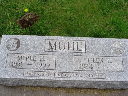 MUHL, HELEN L - Jones County, Iowa   HELEN L MUHL