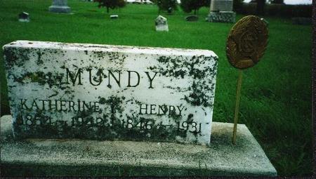 MUNDY, HENRY - Jones County, Iowa | HENRY MUNDY